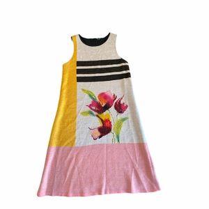 Anthropologie Troubadour Petale Knit Dress XS